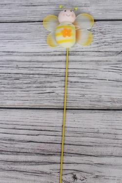 Вставка 35 см с пчелкой желтой 10 см WB7T334