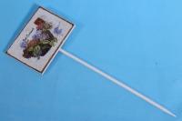 Вставка 30см табличка - Гортензия (1шт)