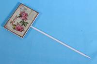 Вставка 30см табличка - Роза (1шт)