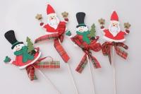 Вставка Дед Мороз /Снеговик (12шт в уп)