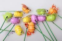 Вставка Пчелка объемная с глазками цветные (12 шт. в упаковке)