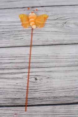 Вставка с пчелкой оранжевой  WB1T3256