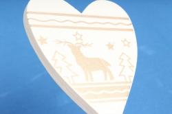 Вставка Сердце с оленем (3 шт в уп) RS007