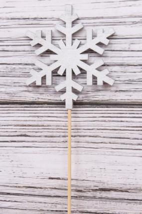 Вставка (Т)  НГ Снежинка  серебро