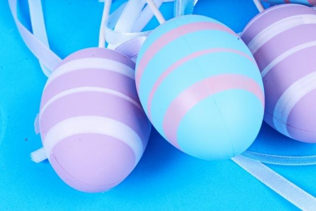 Вставка Яйца 6см микс   (6 шт в уп) BE2017-3B