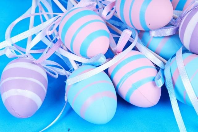 Вставка Яйца 4см микс   (12 шт в уп) BE2017-3D