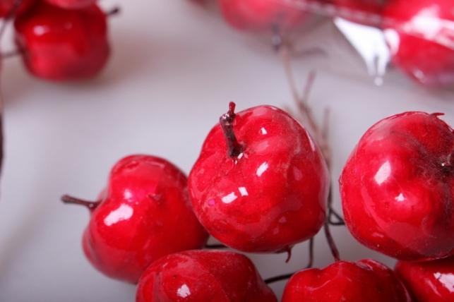 яблоки красные  3см  6/12 ty15-6323 3017
