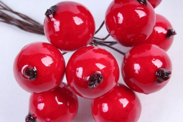 Яблоки ранетки красные 2см (10 шт в уп) TY-13-7592