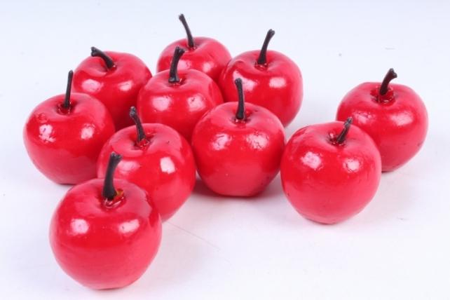 Яблоки в пачке красные(10шт в уп)  9383  HT12A016