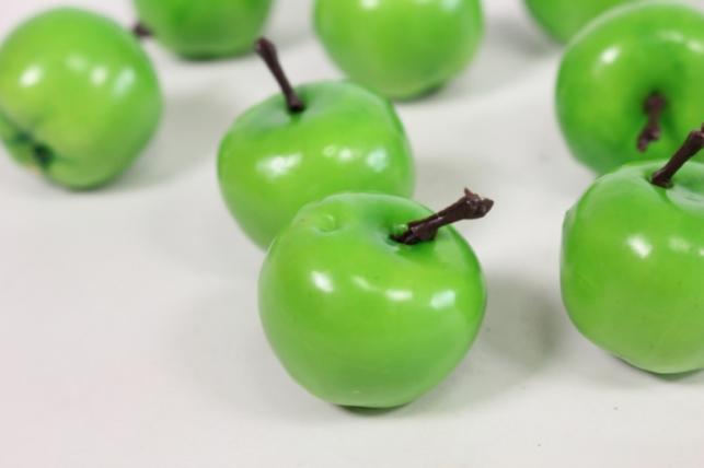 яблоки зеленые 2см (10шт) 12904-1