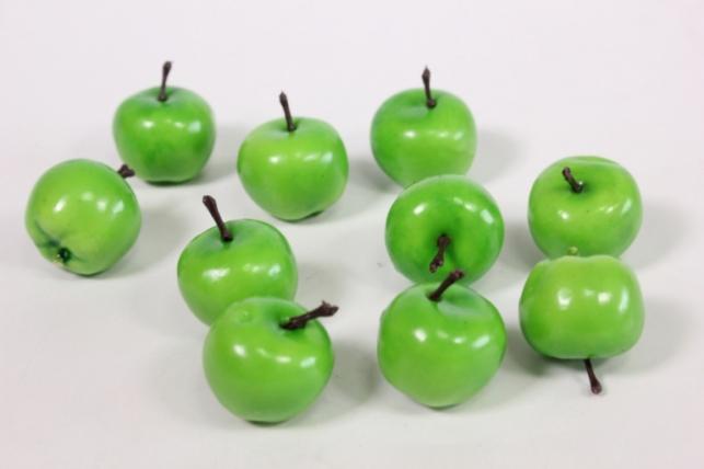Яблоки зеленые 2см (10шт)