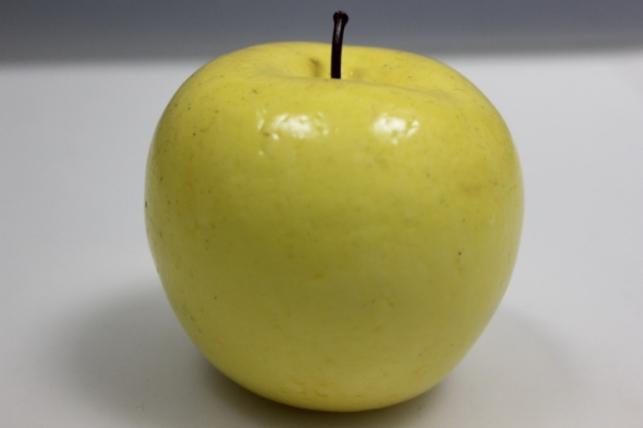 Яблоко искусственное желтое 9см