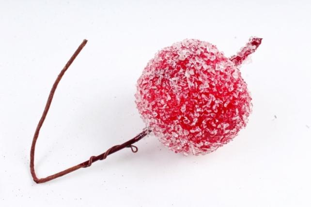 Яблоко засахаренное на вставке,  красный KFS6-2290B (А)