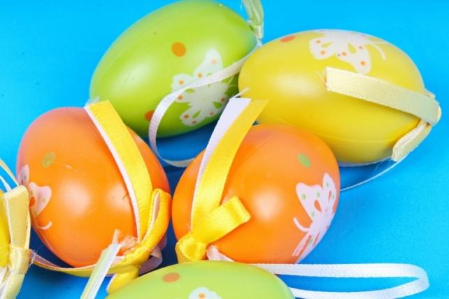 Яйца 6см микс  в тубе (6 шт в уп) BE2017-1A