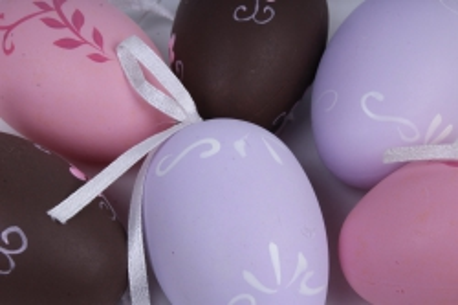 яйца в тубе 4 см микс (12 шт в уп)
