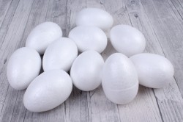 яйцо пенопласт объемное    (10шт в уп)  ht12а037  9680