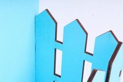 """Ящик (А) конверт одноцветный """"Любимой мамочке"""" №17  (Цвет Голубой ) Я050"""