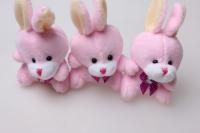 Заяц (игрушка мягкая) (3шт в уп)
