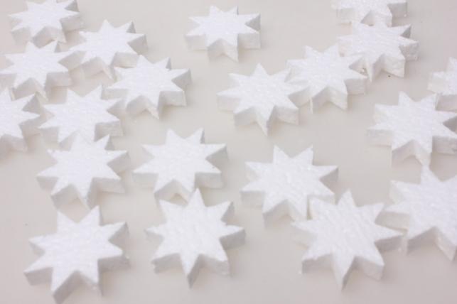 Звезда из пенопласта (20шт)