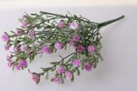Звездчатка сиреневая  букет - цветы искусственные
