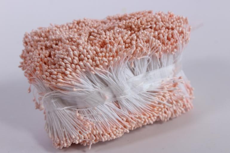 тычинки фоам персик 2 мм (3800 шт)
