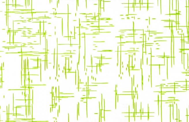 граффити 0.7 упаковка для цветов,- цветочная плёнка - рулон 0,7 граффити - салатовый 13838