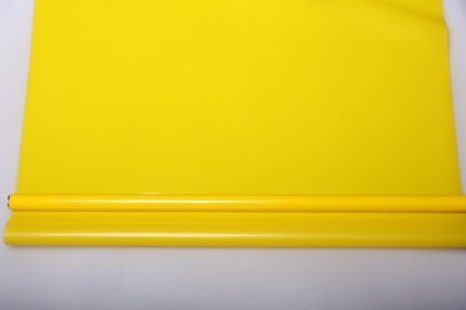 матовый лак 0,7 упаковка для цветов,- цветочная плёнка - рулон 0,7 матовый лак - жёлтый 5724