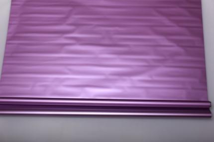 матовый лак 0,7 упаковка для цветов,- цветочная плёнка - рулон 0,7 матовый лак - металлик сиреневый 57225