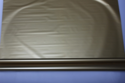 матовый лак 0,7 упаковка для цветов,- цветочная плёнка - рулон 0,7 матовый лак - металлик золотой 57222