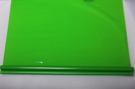 матовый лак 0,7 упаковка для цветов,- цветочная плёнка - рулон 0,7 матовый лак - зелёный 5725