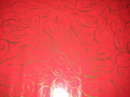 """метапринт """"поэзия"""" 0.7 упаковка для цветов,- цветочная плёнка - рулон 0,7 метапринт """"поэзия"""" - красный 6035"""