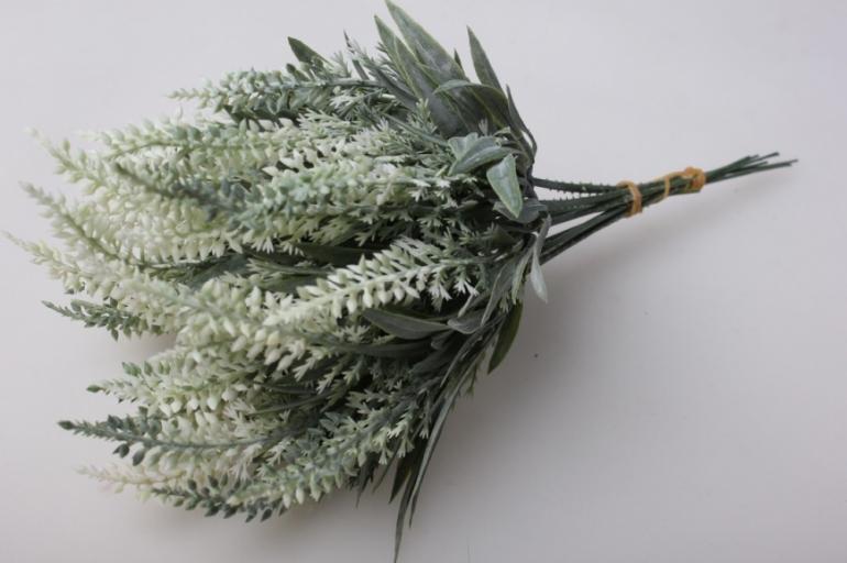 вероника белая букет 15см (10 шт в уп)