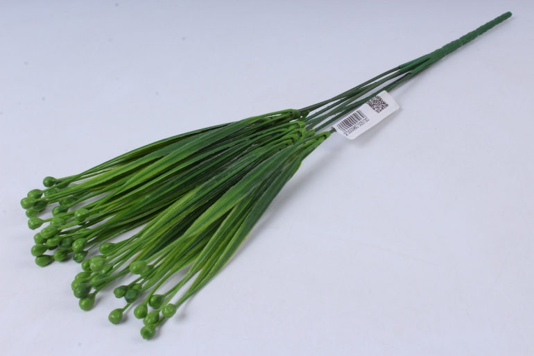 ветка декоративная зелёная h=40cm
