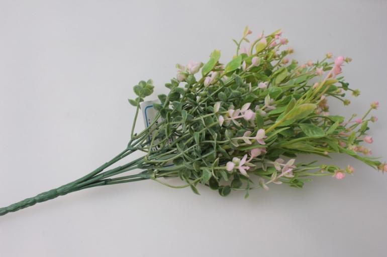 ветка с розовыми ягодками gaр49 - искусственные растения
