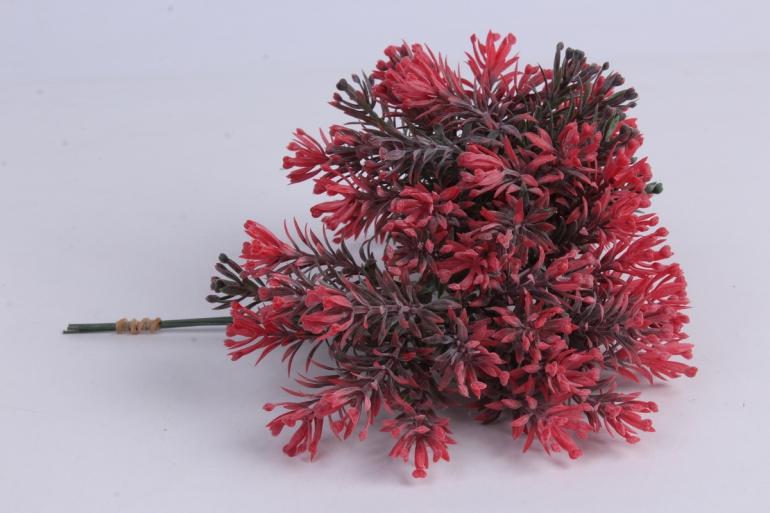 веточка красная 17см (6шт в уп)  ava6  9742