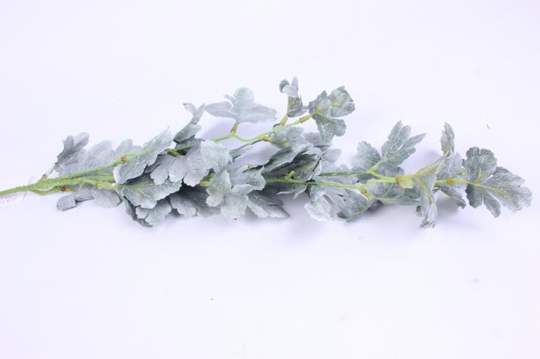 веточка с листиками зеленая 50см  2848  k7g037в
