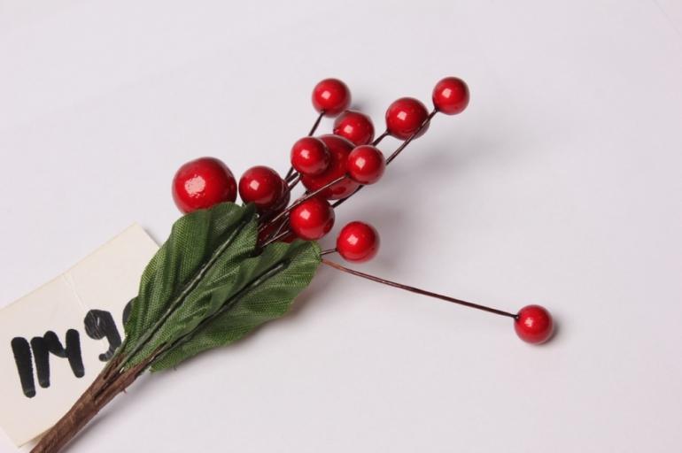 веточка с ягодками 13см 3512