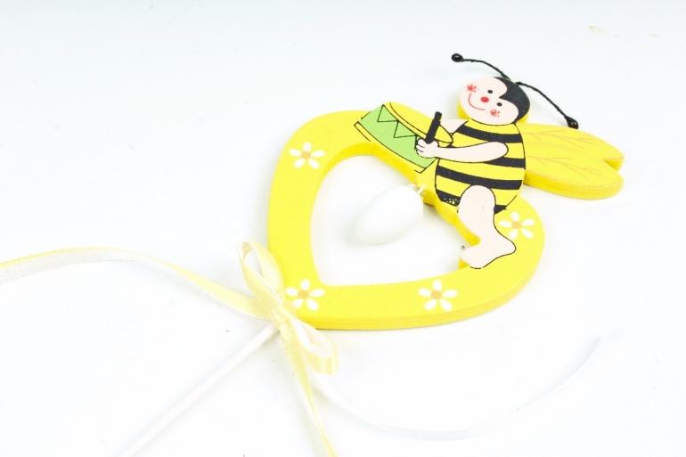 Вставка Пчелка желтая  (1шт) 4470