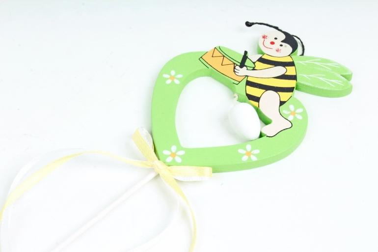 Вставка Пчелка зеленая  (1шт) 4470