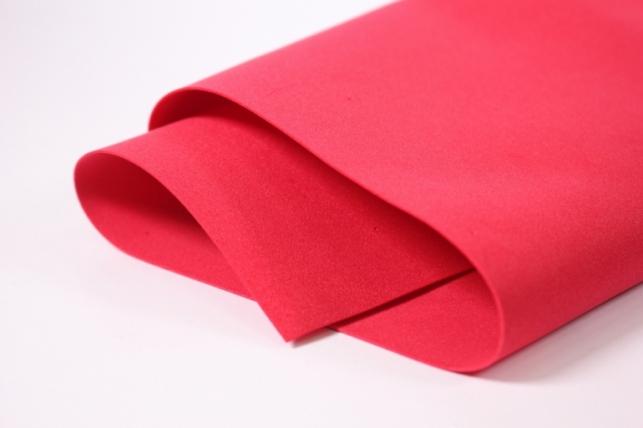 Фоамиран 012 - RED (красный) 60х70см