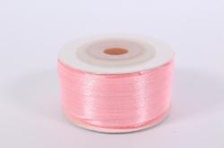 Лента атласная 3мм*50м - Розовая К
