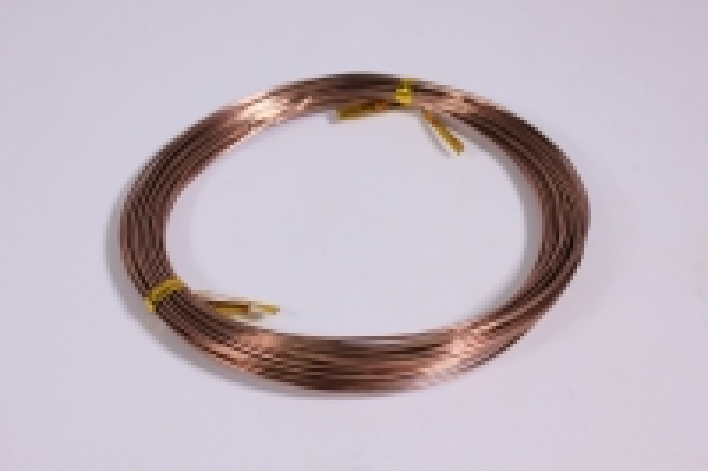 Проволока флористическая 0,8 мм*10м коричневая