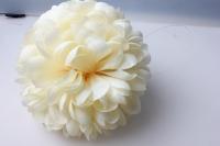 Шар-цветок большой d=20см Шампань 8320