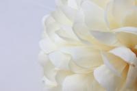 шар-цветок маленький d=12см шампань 8405